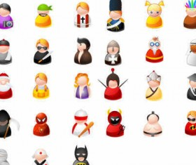Cartoon People Vector icons
