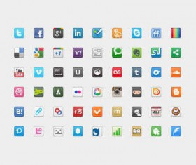 20 px social icons