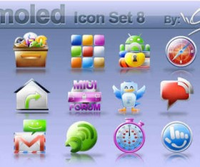 Samoled: icon set 8