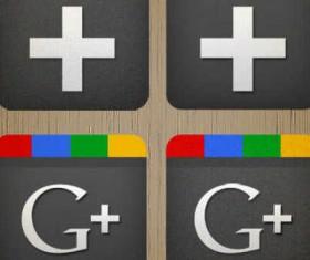 4 Creative Google+ icons