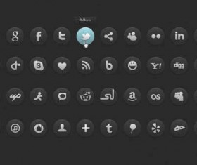 dark social icons