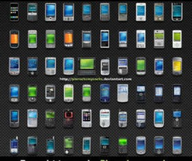 Free mobile device icons