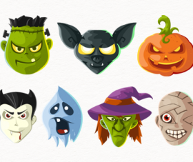 Halloween Head icons Free