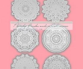 Circular Laces Photoshop Brushes