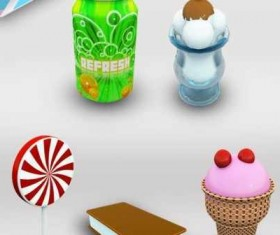 Candy Dock icons