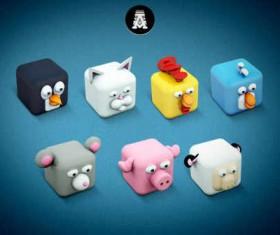 Archigraphs Cubed Animals
