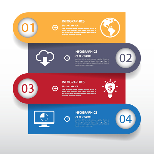 ... Infographic creative design 2522 - Vector Business free download