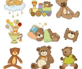 Cartoon baby clipart cute design 06