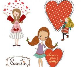 Cartoon baby clipart cute design 08