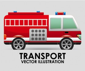 Collection of transportation vehicle vector material 03