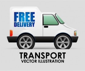 Collection of transportation vehicle vector material 13