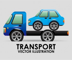Collection of transportation vehicle vector material 14