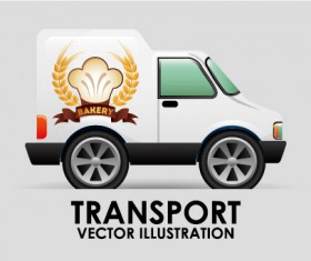 Collection of transportation vehicle vector material 15