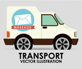 Collection of transportation vehicle vector material 16