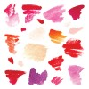 Colorful watercolor ink brushes vector 01