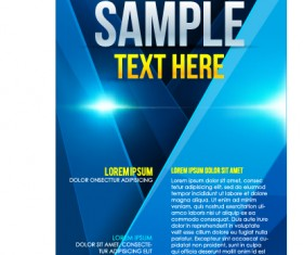 Creative business cover templates vector set 03
