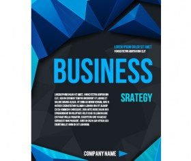 Creative business cover templates vector set 04