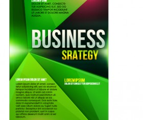 Creative business cover templates vector set 10
