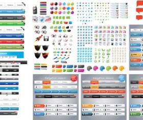 Designers toolkit web vector set