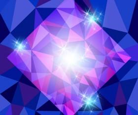Diamond geometric shapes background vector 02
