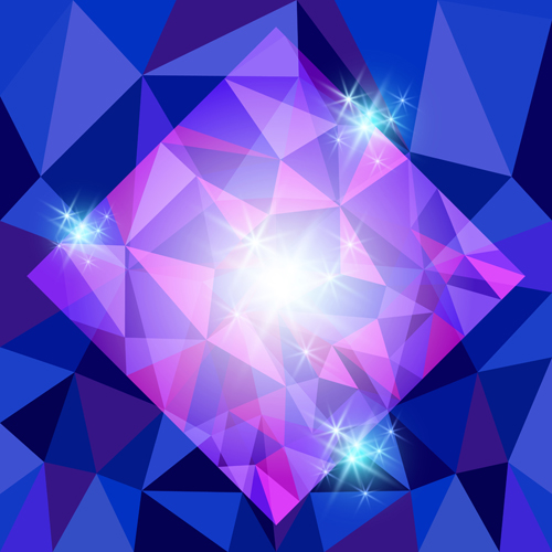 diamond vector background - photo #2