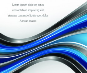 Dynamic lines colored wavy background art vector 03