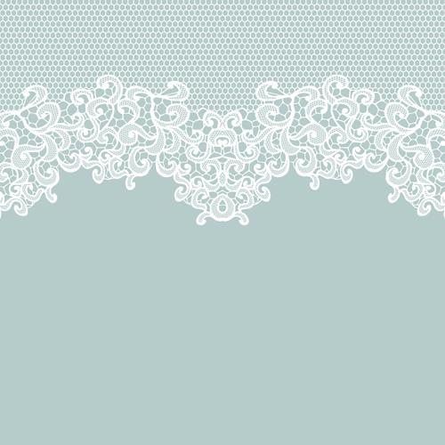 Elegant white lace vector background 01 vector for Elegant wallpaper