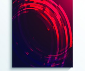 Modern style cover abstract background vector 06