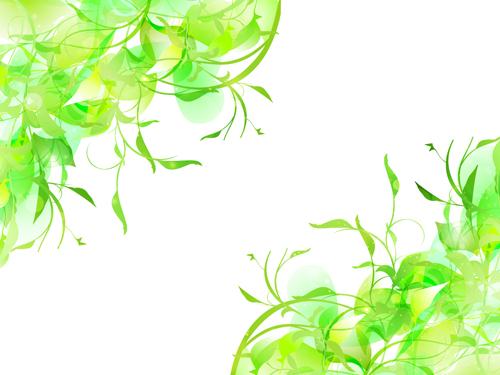 Natural green halation background art 05