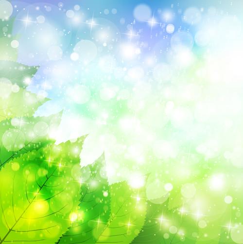 Natural green halation background art 10
