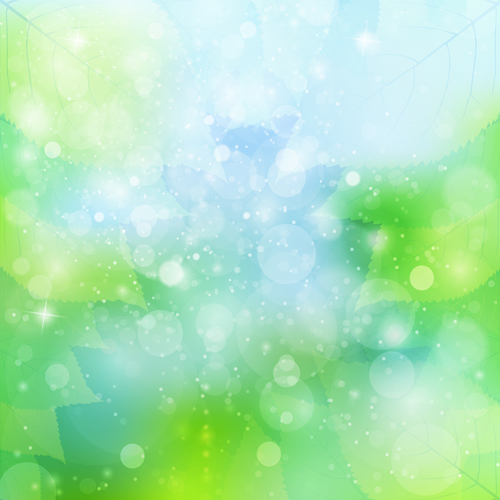 Natural green halation background art 12