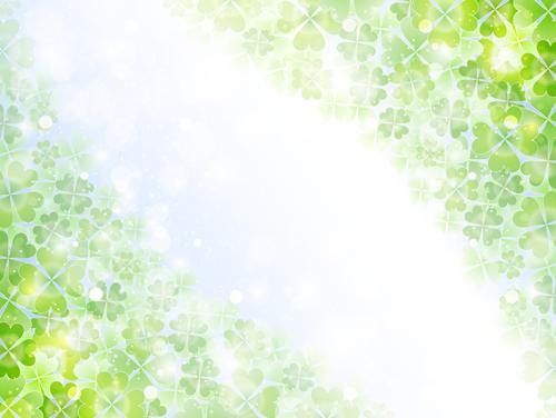 Natural green halation background art 14