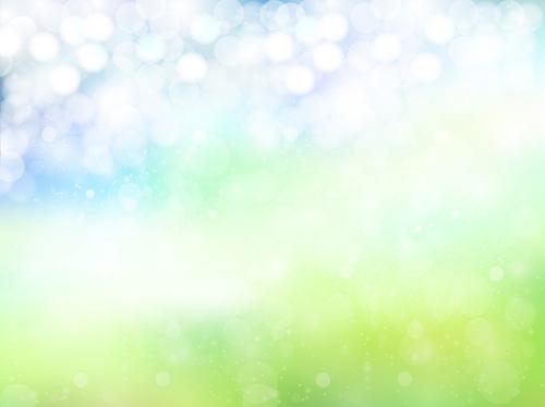 Natural green halation background art 15