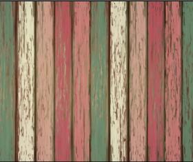 Old wooden floor textured background vector 03