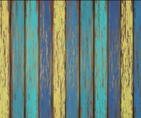 Old wooden floor textured background vector 04