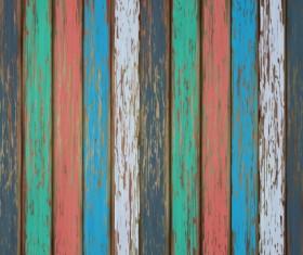 Old wooden floor textured background vector 08