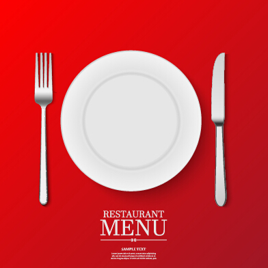 Ornate restaurant menu background art 02