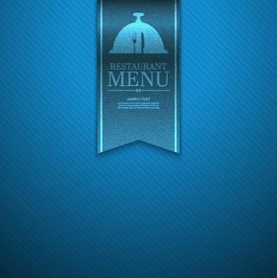 Ornate Restaurant Menu Background Art 05 Vector