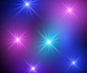Sparkling light dot vector