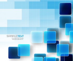 Square and mosaics shiny background vector 03