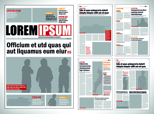 Newspaper Vector For Free Download