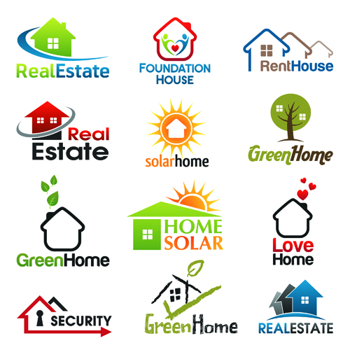 12 Kind Real Estate Logos Free Vector Free Download