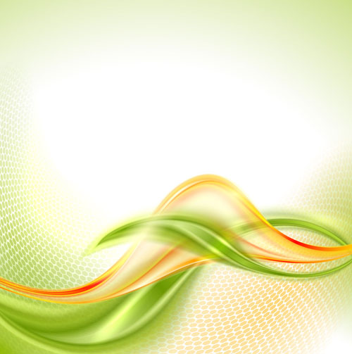 Abstract Wavy Green Eco Style Background Vector 21 Free