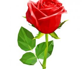Beautiful roses vector material 01
