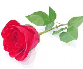 Beautiful roses vector material 02
