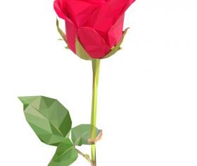 Beautiful roses vector material 03