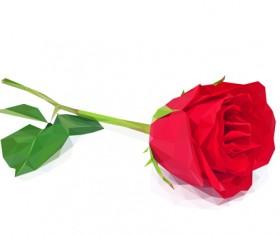 Beautiful roses vector material 05