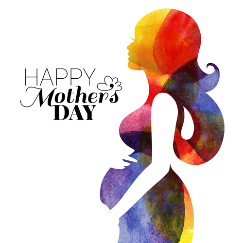Creative Floral Flyer Of Happy Mothers Day Template For: Creative Mothers Day Art Background Vector 01