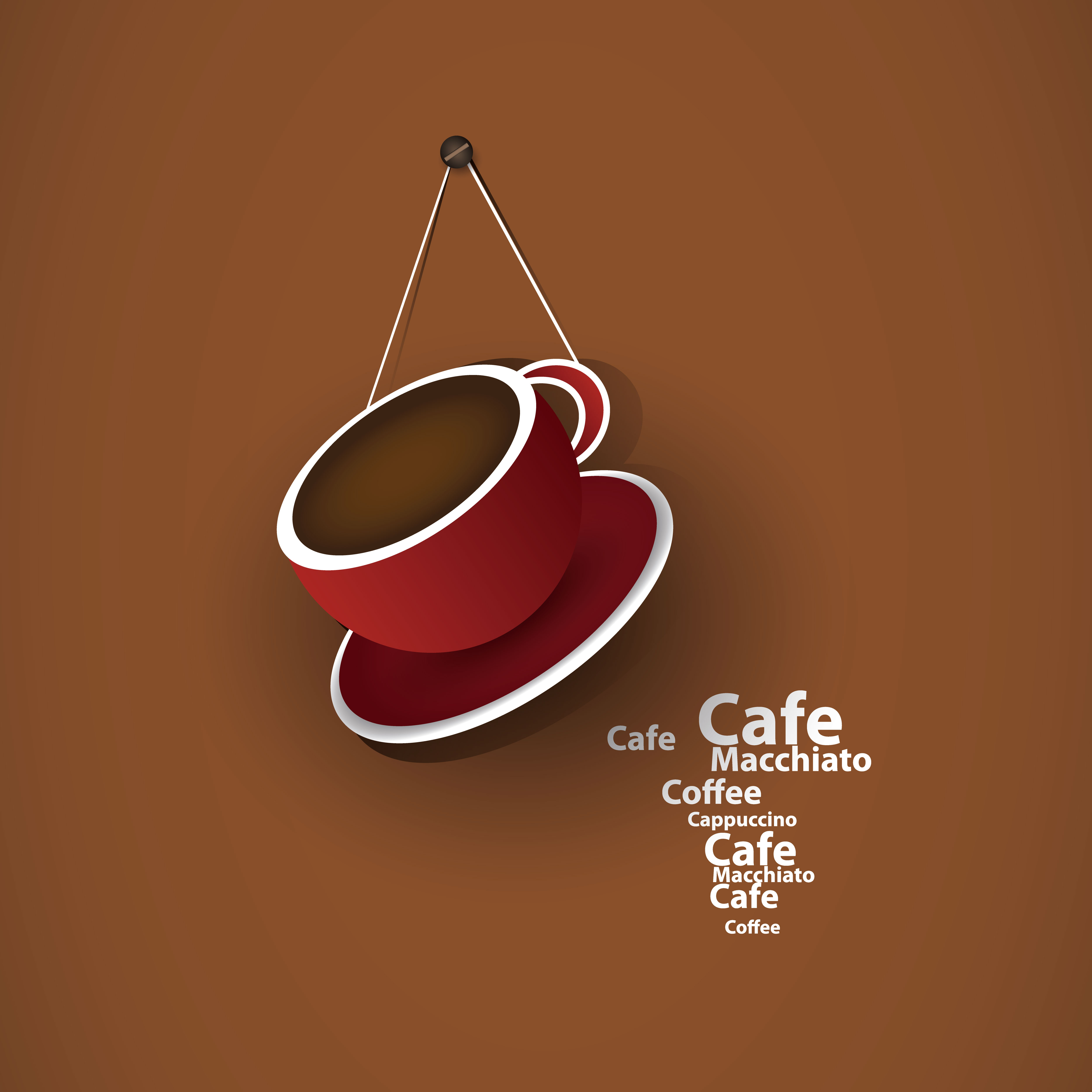 Exquisite Cafe Vector Background Vector Background Free