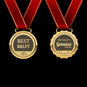 Gorgeous medal award vector 06